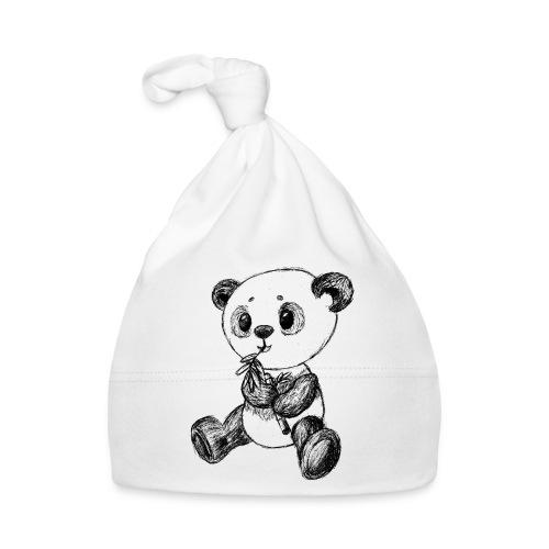 Panda bjørn sort scribblesirii - Babyhue