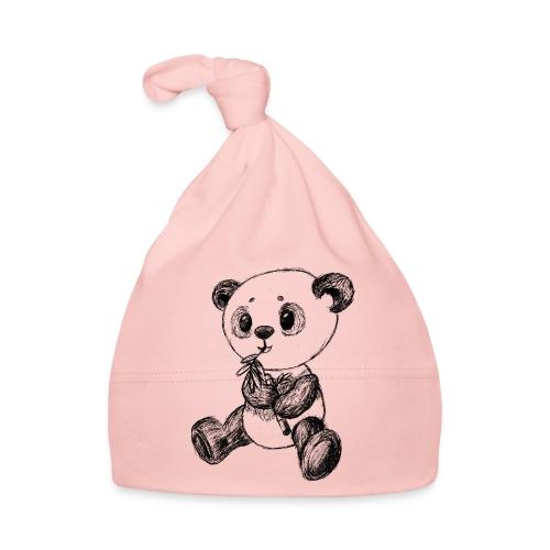 Panda Bär schwarz scribblesirii - Baby Mütze