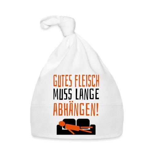 Gutes Fleisch Abhängen Chillen Sofa Faul Spruch - Baby Mütze