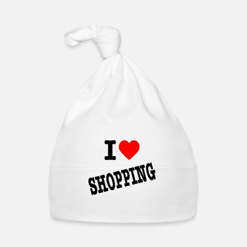 I Love Shopping (Ik Hou van Winkelen) - Muts voor baby's