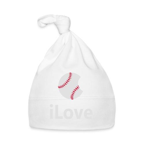 Baseball Logo iLove Baseball - Baby Cap