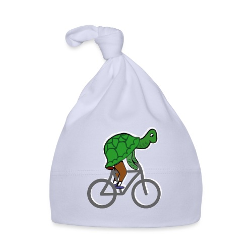 Schildkröte fährt Rad - Baby Mütze