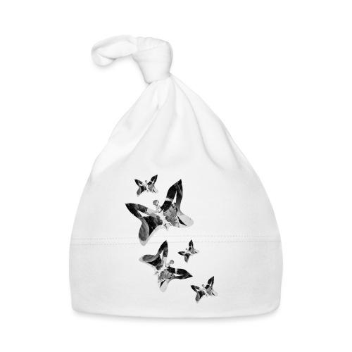 Schmetterlinge - Baby Mütze