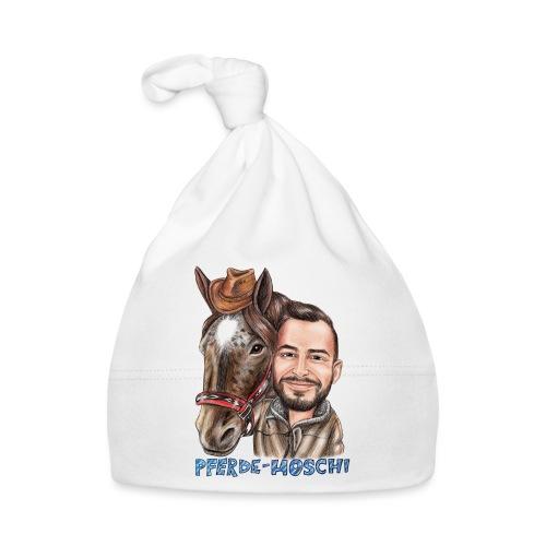 Pferde-Hoschi Kollektion hinten - Baby Mütze