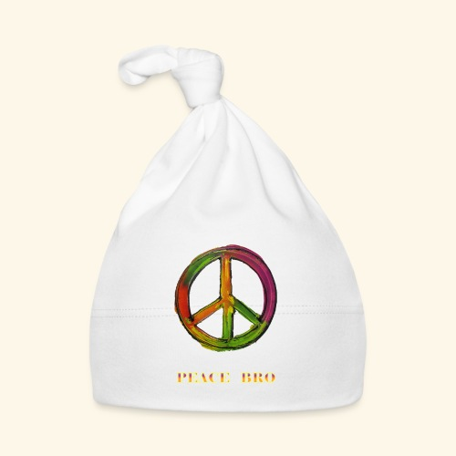 PEACE sign - PEACE BRO - Muts voor baby's