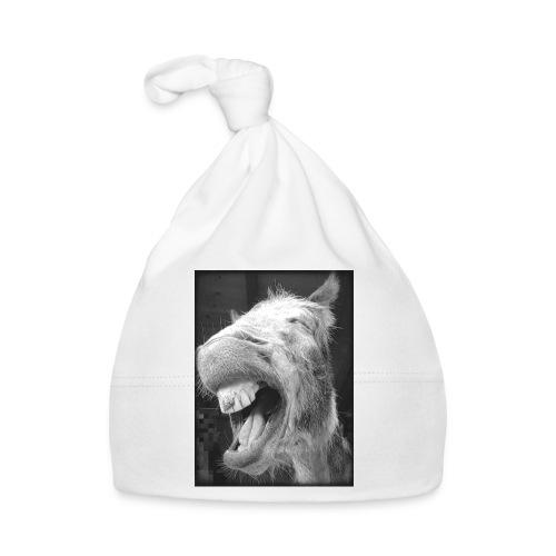 lachender Esel - Baby Mütze