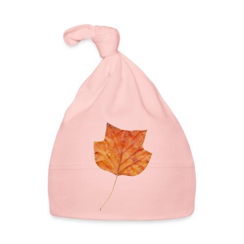 Herbst-Blatt - Baby Mütze
