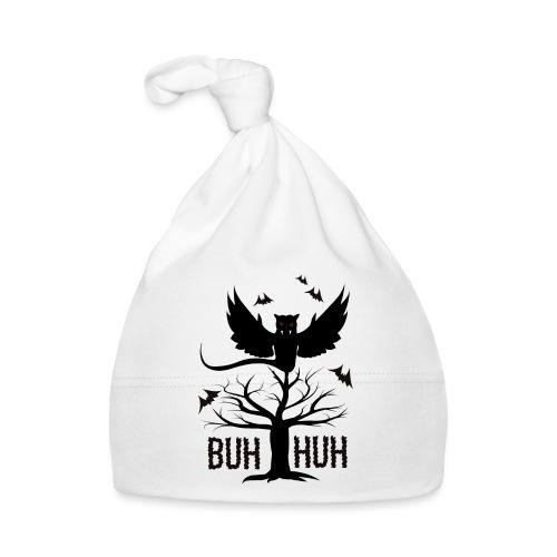 BUH HUH - Horror UHU EULE, Halloween, Fledermaus - Baby Mütze