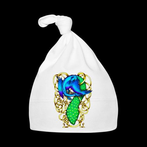 Peacock Dragon - Baby Cap