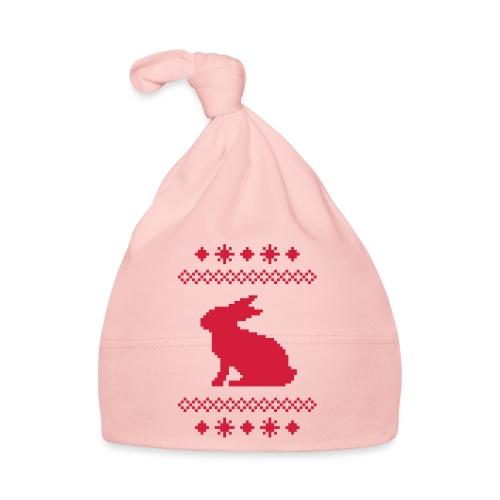 Norwegerhase hase kaninchen häschen bunny langohr - Baby Mütze