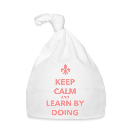 Keep calm and learn by doing - Farbe frei wählbar - Baby Mütze