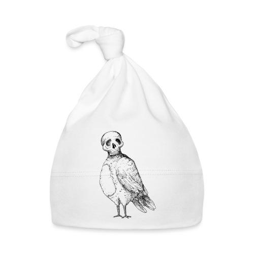 skull bird White alpha - Bonnet Bébé