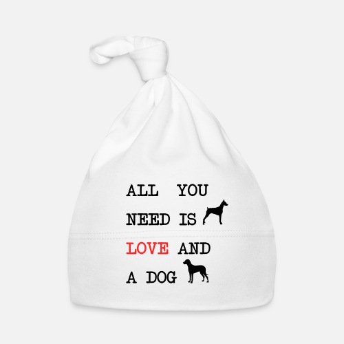 All You Need is Love and a Dog - Muts voor baby's