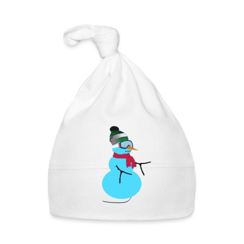 Snowboarding snowman - Vauvan myssy