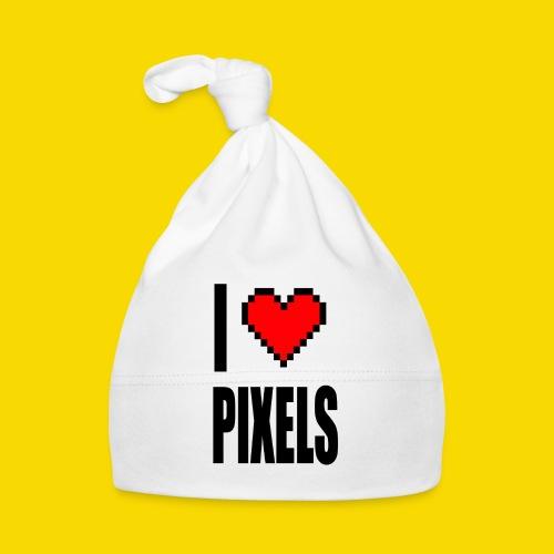 I Love Pixels - Czapeczka niemowlęca