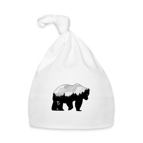 Geometric Mountain Bear - Cappellino neonato