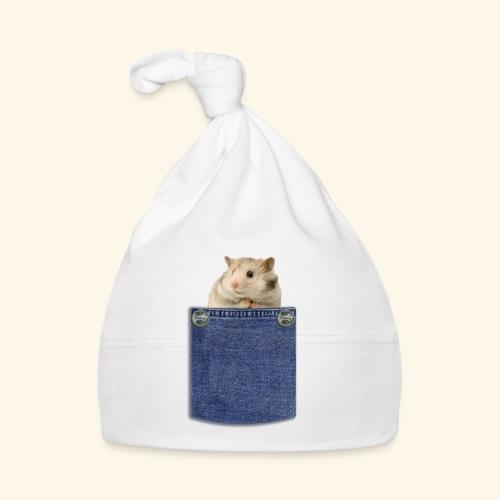 hamster in the poket - Cappellino neonato
