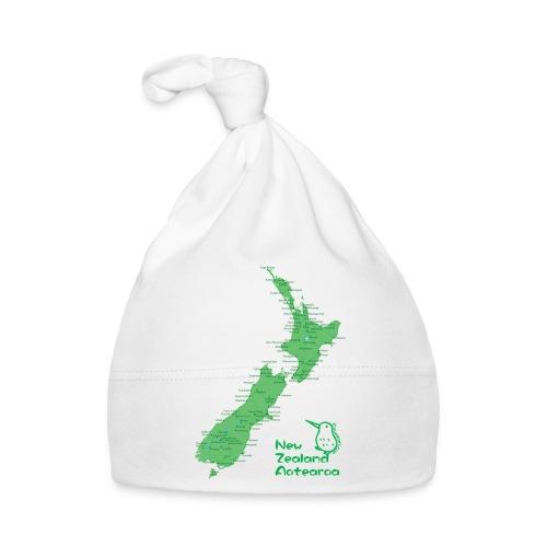New Zealand's Map - Baby Cap