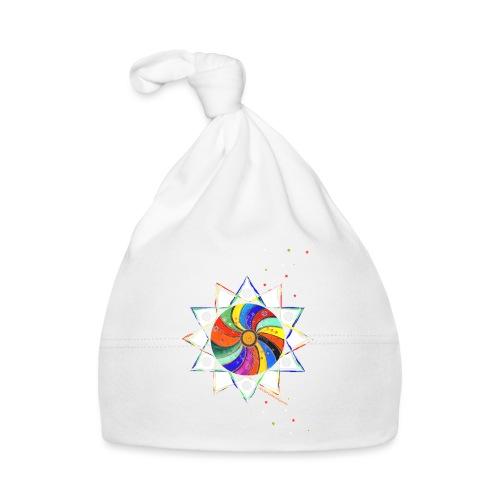 Bunter Stern - Baby Mütze