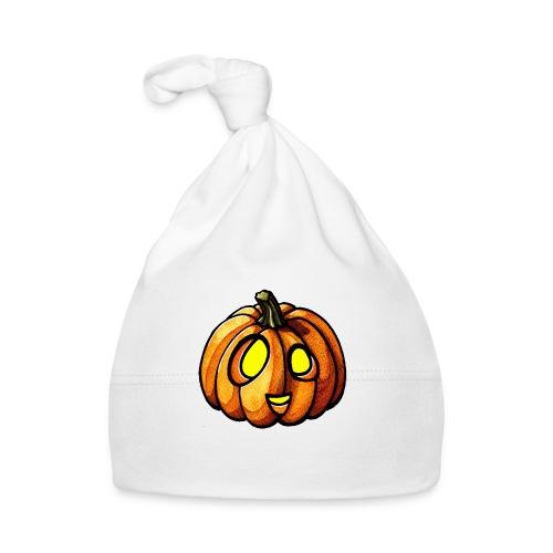 Pumpkin Halloween watercolor scribblesirii - Baby Mütze