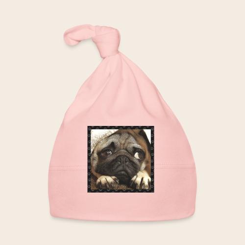 Mops Hund 1 - Baby Mütze
