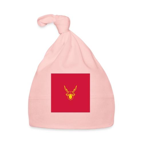 scimmiacervo sfondo rosso - Cappellino neonato