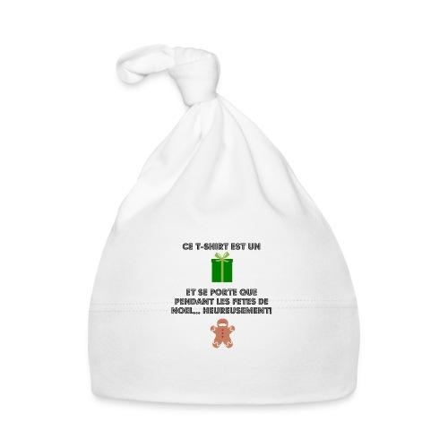T-shirt cadeau de Noël - Bonnet Bébé
