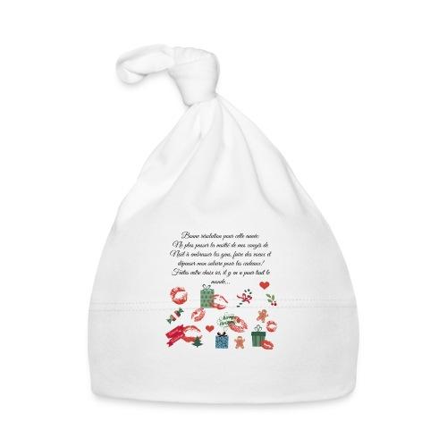 Bonne resolution Noël Nouvel An - Bonnet Bébé