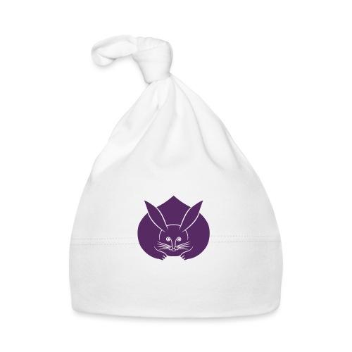 Usagi kamon japanese rabbit purple - Baby Cap
