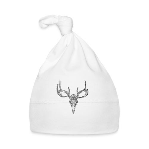 Deer skull with rose - Vauvan myssy
