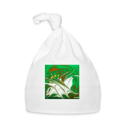 TIAN GREEN Mosaik CG002 - quaKI - Baby Mütze