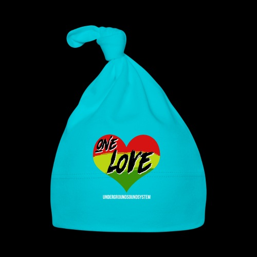 ONE LOVE - HEART - Baby Mütze