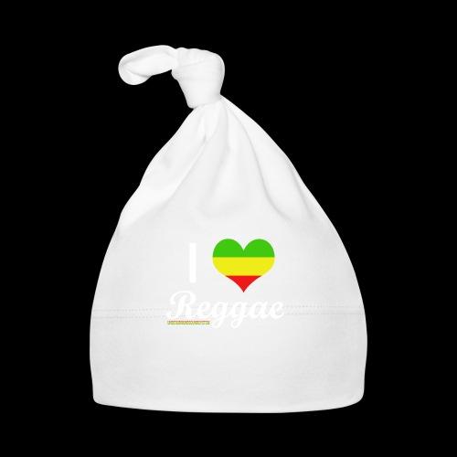 I LOVE Reggae - Baby Mütze