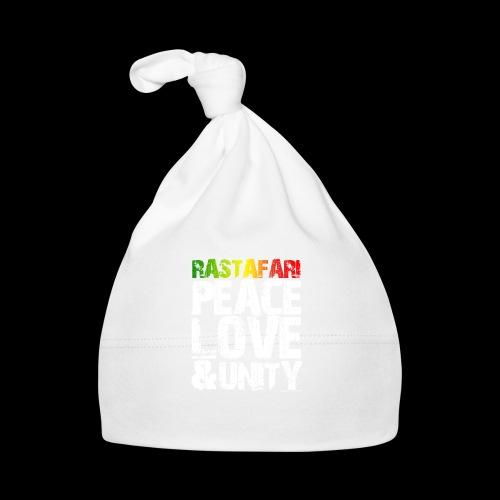 RASTAFARI - PEACE LOVE & UNITY - Baby Mütze