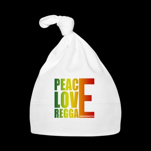 PEACE LOVE REGGAE - Baby Mütze