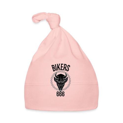 biker devil black 666 - Bonnet Bébé