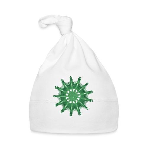 grünes Steuerrad Grüner Seestern 9376alg - Baby Mütze