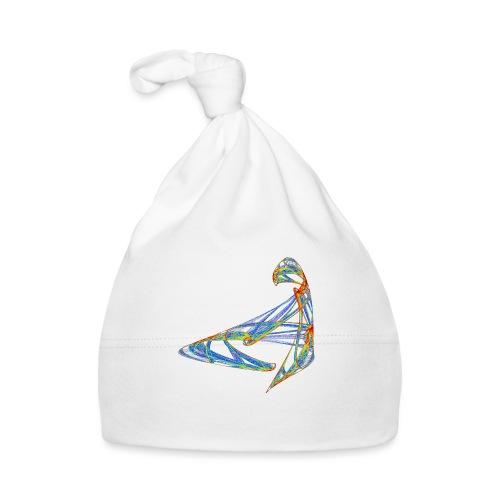 Fröhliches Farbenspiel 853 jet - Baby Mütze