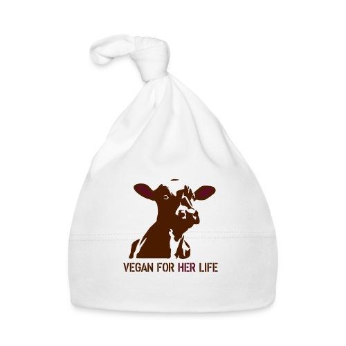 vegan for her life - Baby Mütze