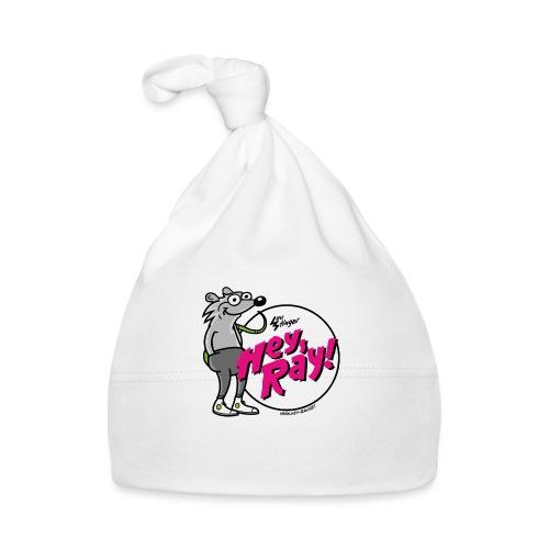 Hey Ray! Logo magenta - Baby Mütze