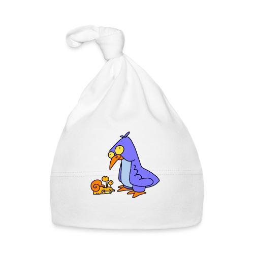 Schnecke und Vogel Nr 2 von dodocomics - Baby Mütze
