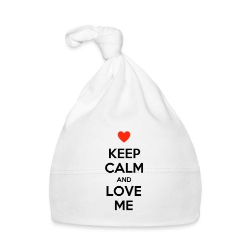 Keep calm and love me - Cappellino neonato