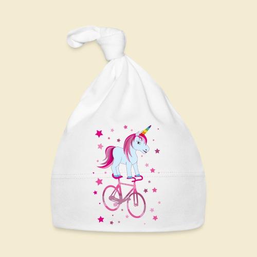 Kunstrad | Einhorn Pink - Baby Mütze