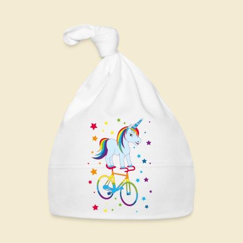 Kunstrad | Einhorn Regenbogen - Baby Mütze