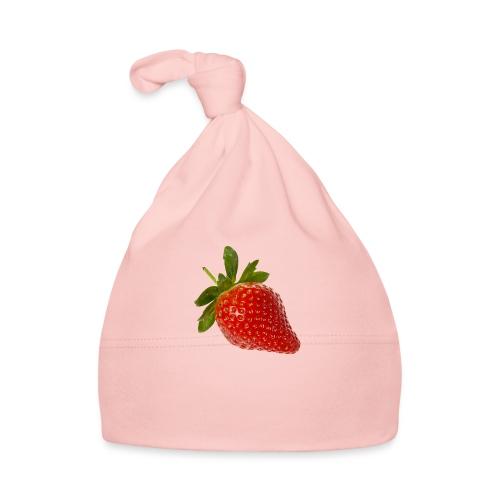 Erdbeere - Baby Mütze