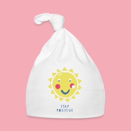 Stay positive // Sonne - Baby Mütze