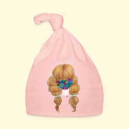 Fille masquée aux succulentes - Bonnet Bébé