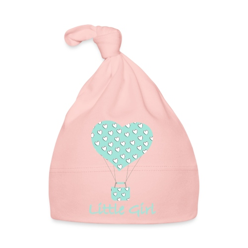 Little Girl in mongolfiera - Cappellino neonato