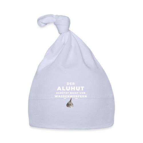 Aluhut und Wasserwerfer - Baby Mütze
