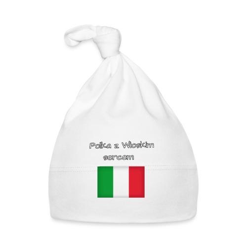 Włosko-polska - Czapeczka niemowlęca